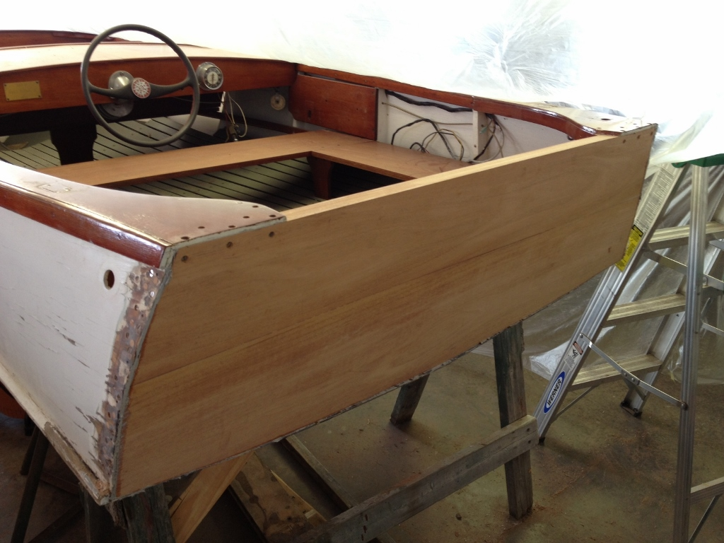 Runabout Restorations 1954 Chris Craft Kit Boat
